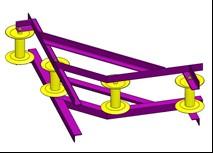 Ролик угловой для прокладки кабеля РПК 4-150УВ