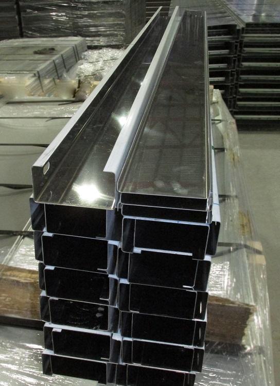 Короба замковые неперфорированные серии GYROUX из нержавеющей стали AISI 304