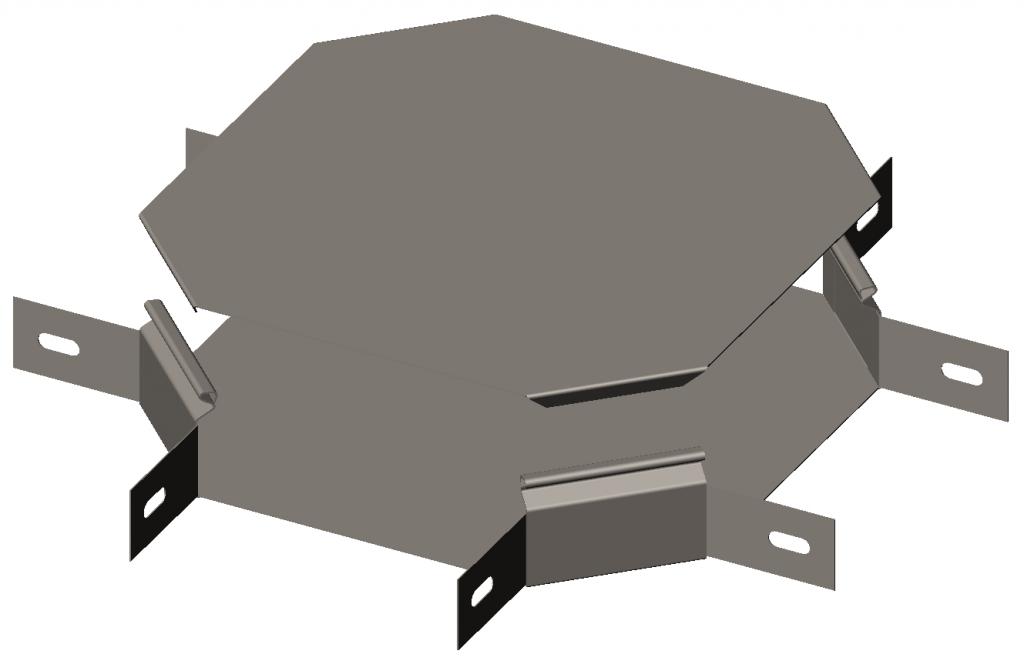 Х-секция 90° с крышкой CLST OLSERO LSR/LSRP