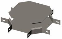 Х-секция замковая с крышкой серия Gyroux