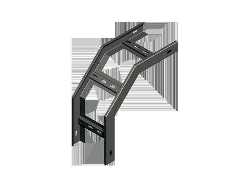Секция спусковая 90º замковая без крышки НЛК
