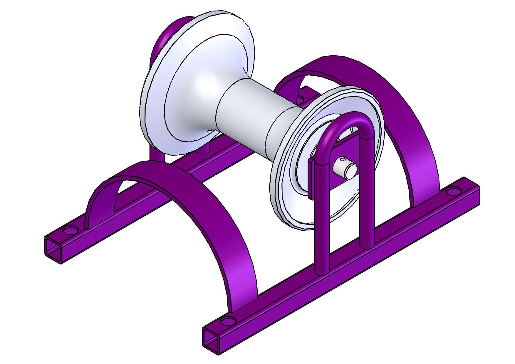 Ролик для прокладки кабеля РПК 150МАл