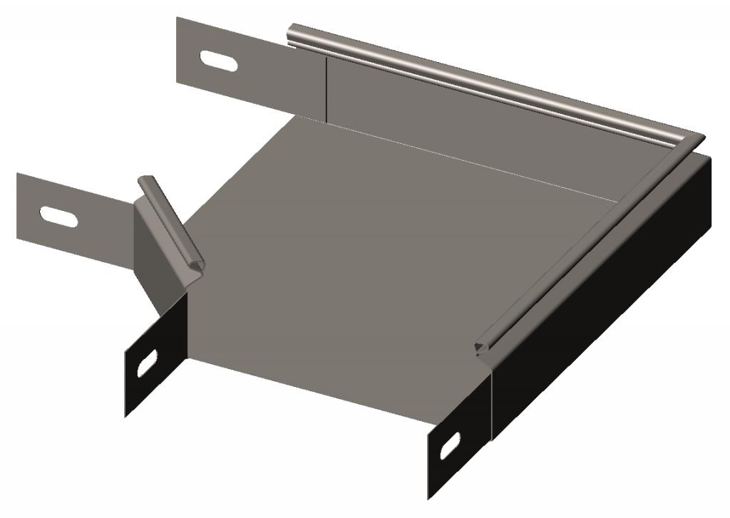 Cекция угловая замковая 90° ( отвод) без крышки RLS