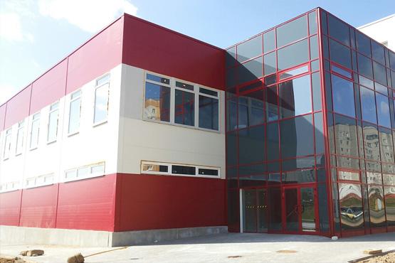 Торгово-административное здание на пересечении улиц Мазурова и Скрипникова г. Минск