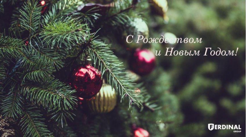 С Наступающим Новым 2019 годом и Рождеством!