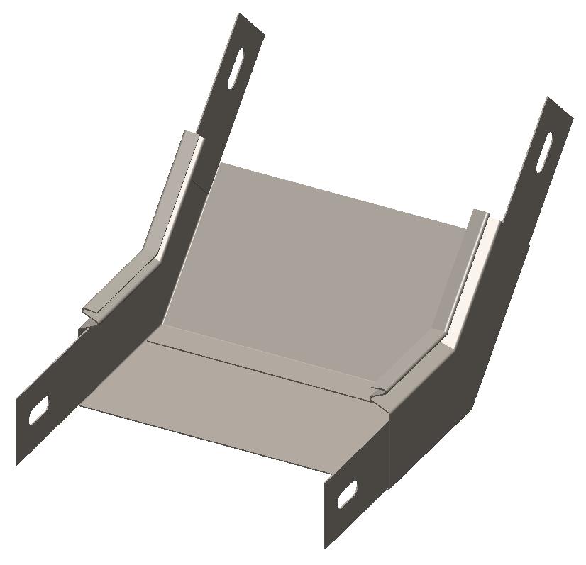 Полуподъем замковый 45° без крышки серия Gyroux