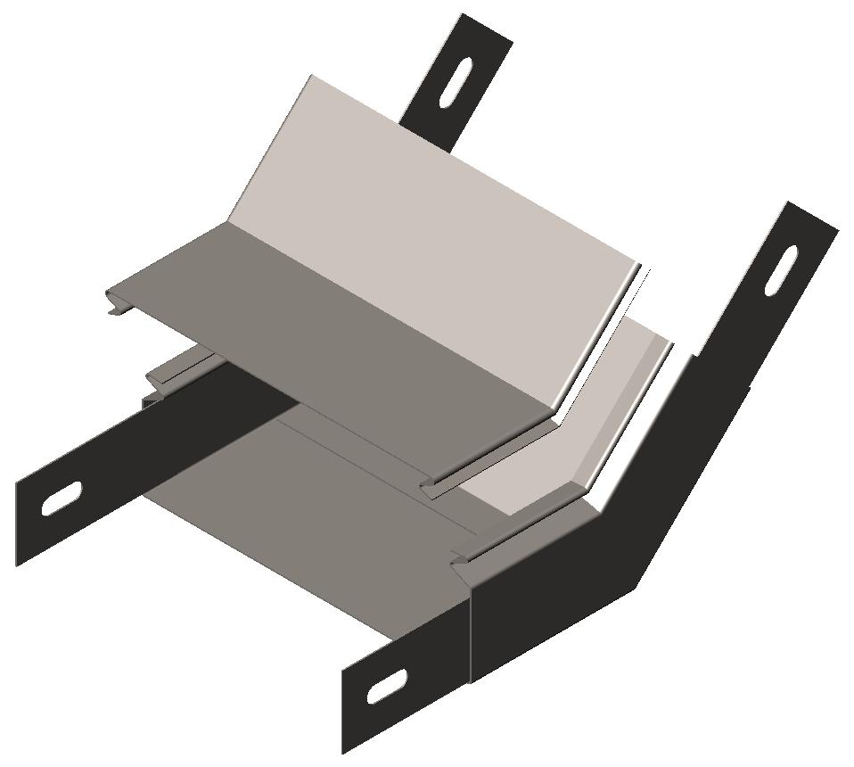 Полуподъем замковый 45° с крышкой серия Gyroux